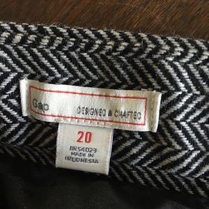 GAP Skirts - Skirt Herringbone Size 20 Gap NWT